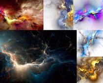 色彩光芒拍摄高清图片