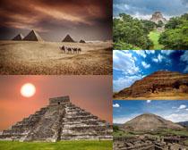 金字塔旅游景點攝影高清圖片
