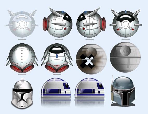 金属面具png图标