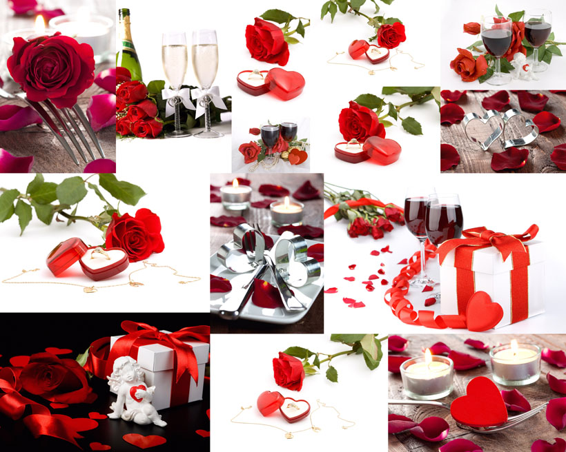 红酒玫瑰花朵情人节红馆娱乐网址