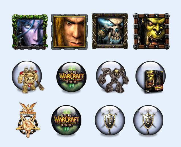 魔兽世界游戏图标png图标