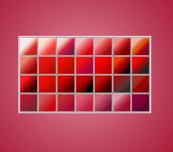 大气红色渐变PS素材