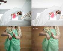 照片转电影特效效果PS调色动作