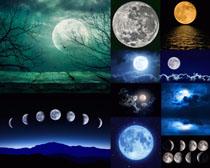 月亮美景拍摄高清图片
