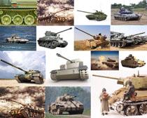 戰爭坦克攝影高清圖片