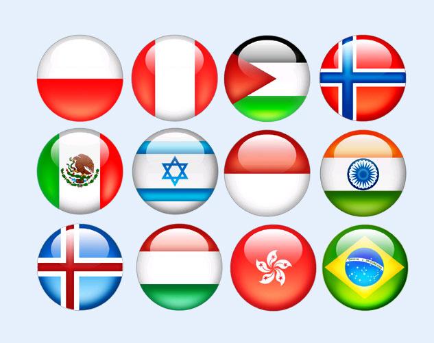 水晶球国旗png图标