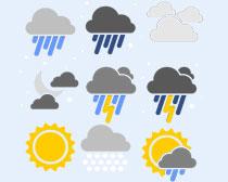 阵雨天气图标PNG图标
