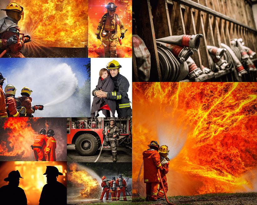 消防救人图标素材_消防员摄影高清图片 - 爱图网设计图片素材下载