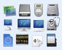 个性电脑硬盘PNG图标