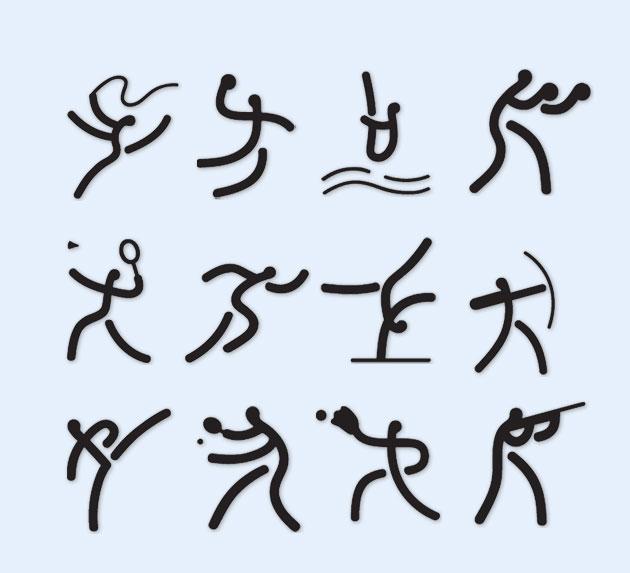 奥运体育项目PNG图标