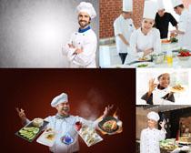 美味食物与厨师摄影高清图片