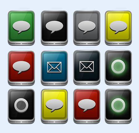 微信对话图框png图标