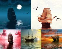 夕阳航海帆船摄影时时彩娱乐网站