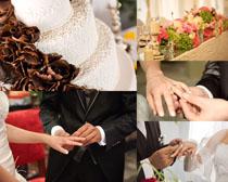 浪漫的婚庆人物摄影高清图片