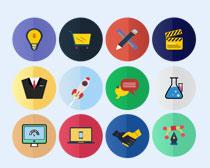 购物和合作图标PNG图标