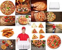 国外披萨美食摄影高清图片