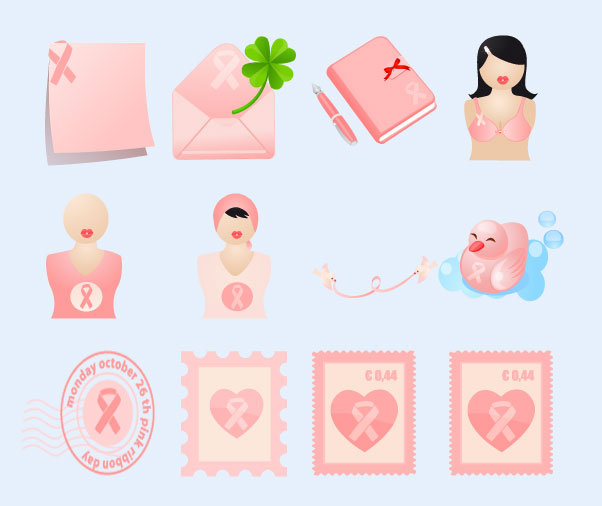 粉色的手机主题png图标