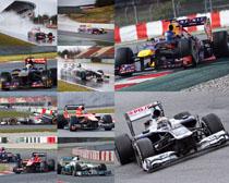 F1塞车摄影高清图片