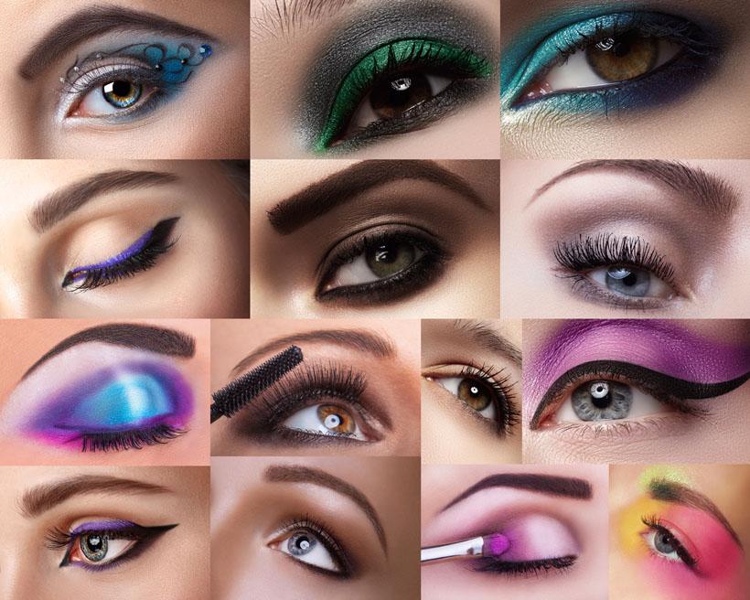 彩妆眼影女人摄影高清图片 - 爱图网设计图片素