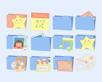 卡通风格的日历PNG图标