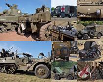 坦克車軍事武器攝影高清圖片