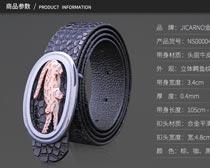淘宝皮带详情页面设计PSD素材