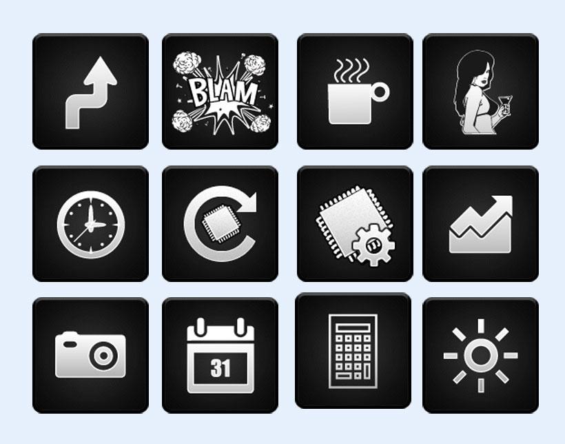 人物相册png图标 - 爱图网设计图片素材下载