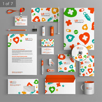 素材企业矢量色彩VI方块标识-爱图网设计图片图片伤心表情包的a素材大全图片