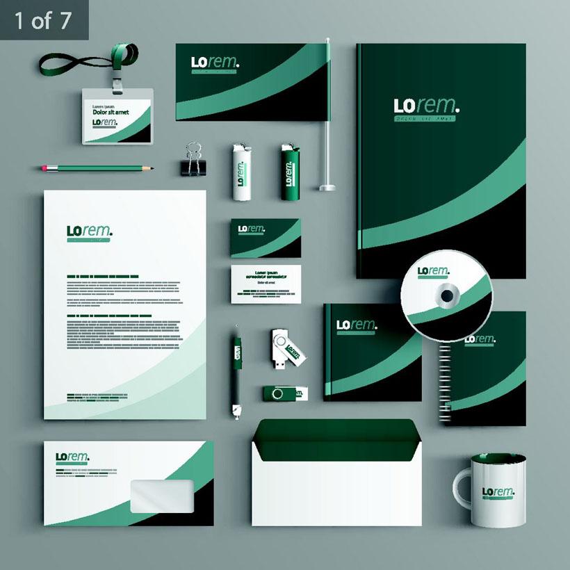 形像公司vi标识矢量素材 - 爱图网设计图片素材下载
