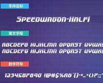 Speedwagon-HalfIt英文字�w砰下�d