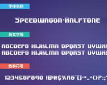Speedwagon-Halftone英文字��竟玄�B一族在一旁虎�眈眈�w下�d