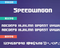 Speedwagon英文字体下载