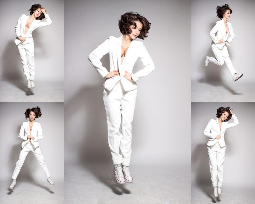 美女 职业装-职业装模特美女摄影高清图片