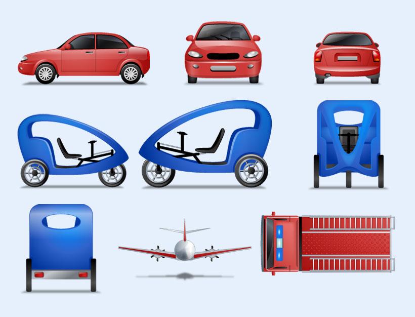 生活图标 代驾车 飞机 卡车 轿车 私家车 豪华 系统设置 系统图标 pn