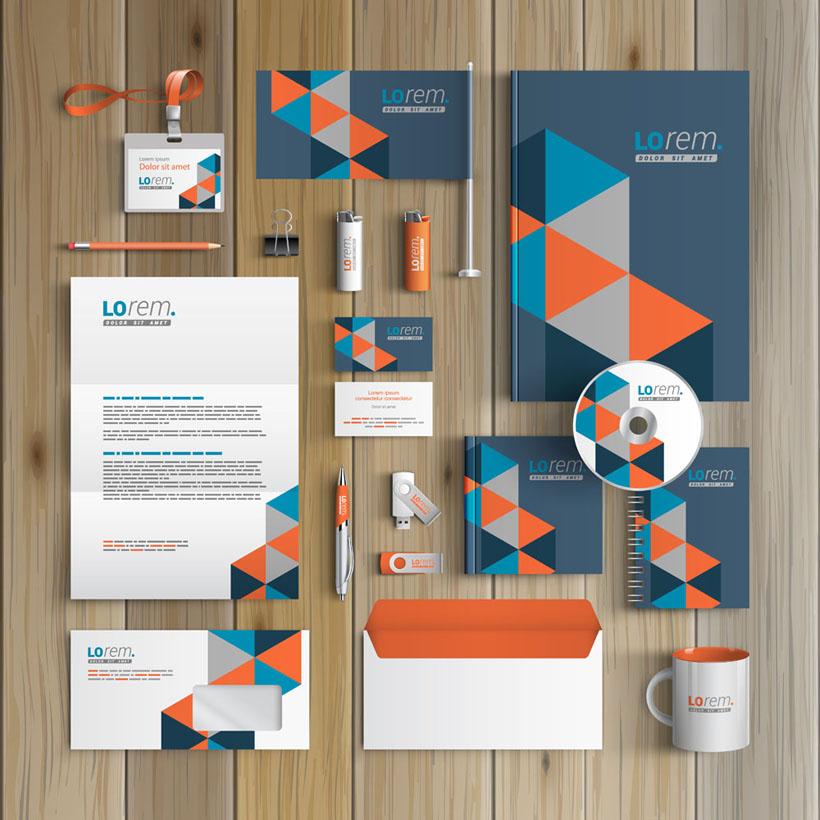 创意标识vi设计矢量素材 - 爱图网设计图片素材下载