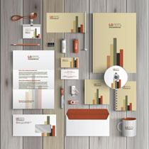 公司套装VI设计标识矢量素材