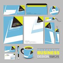 企业设计展示VI矢量素材