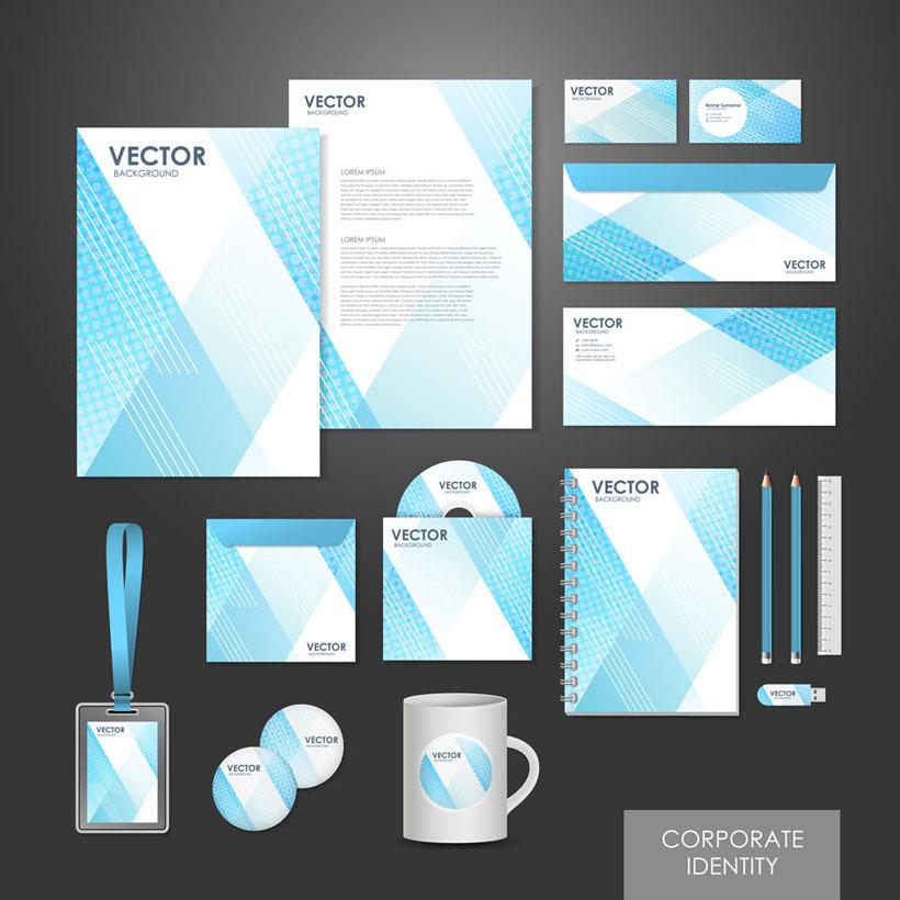 淡素材VI设计图片矢量-爱图网设计图片素材下手工pop海报设计蓝色图片
