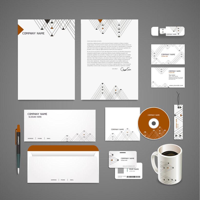 简单设计VI标识矢量素材
