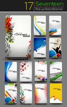 创意设计展板VI矢量素材