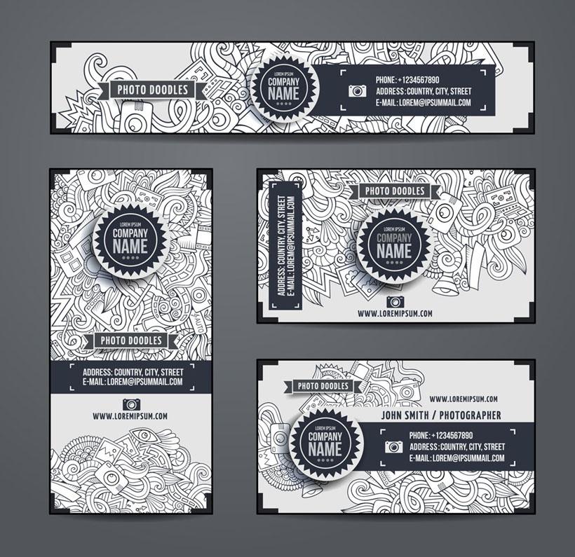关键字: vi设计图案花纹绘画名片卡片卡片设计广告设计模板矢量素材