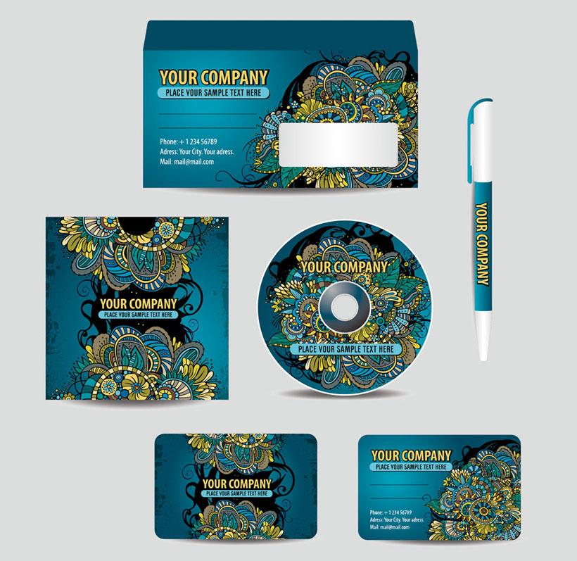 矢量素材 名片卡片 > 素材信息   关键字: 名片卡片图案设计风格光盘