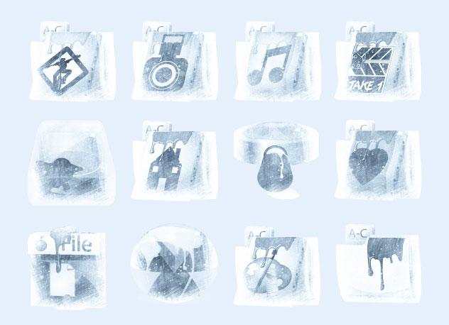 摩擦风格的相册图标png图标 - 爱图网设计图片素材下载