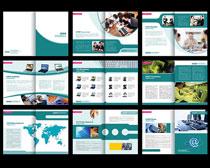 企业文化宣传册设计PSD素材