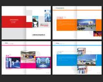 时尚企业文化画册设计矢量素材