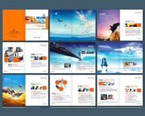 企业宣传册画册设计矢量素材
