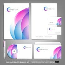 公司卡片名片设计模板VI矢量素材
