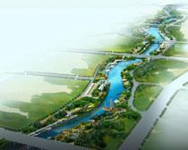 环境规划设计图PSD素材