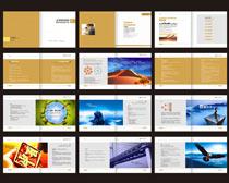 社区教育画册设计矢量素材