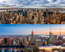高楼大厦城市风光摄影高清图片